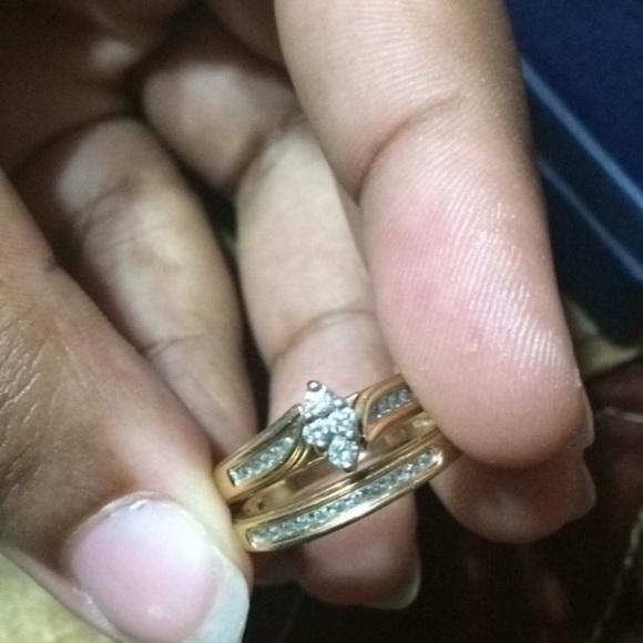Pandora Jewelry - Wedding ring set